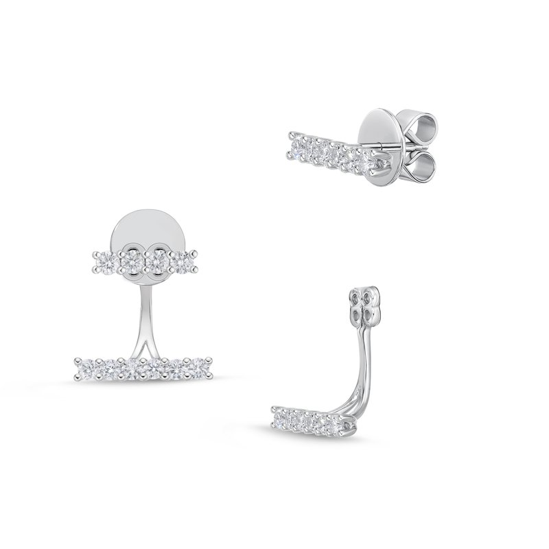 Memoire Bar Collection Stud with Earring Jacket