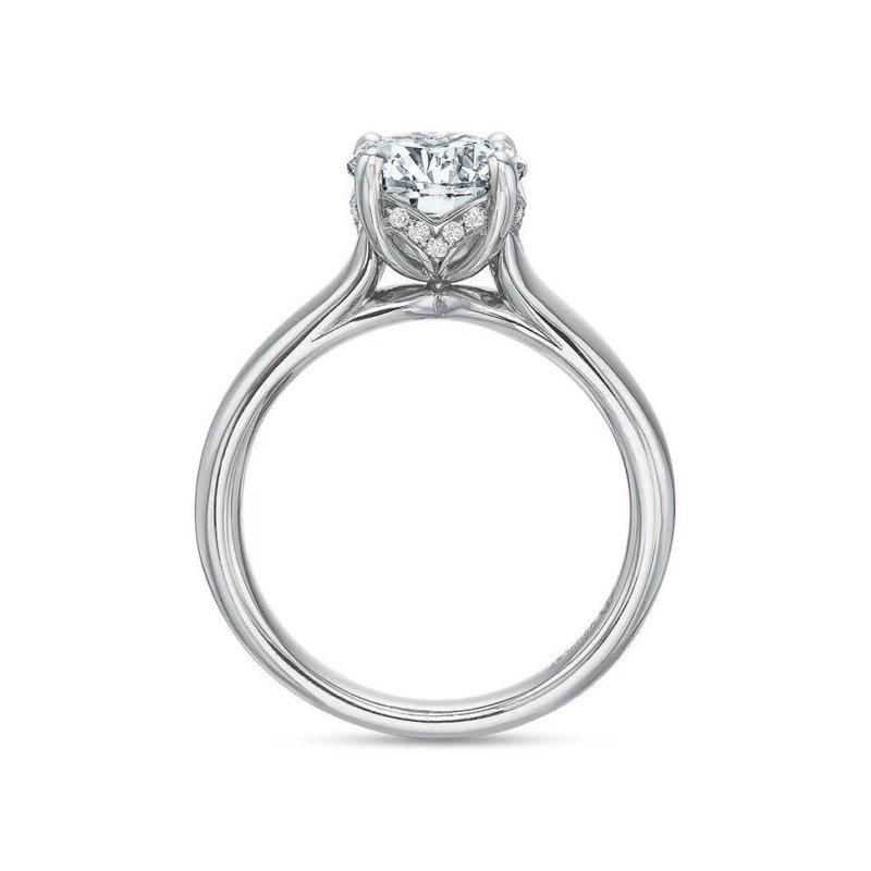 Precision Set Diamond Solitaire Engagement Ring
