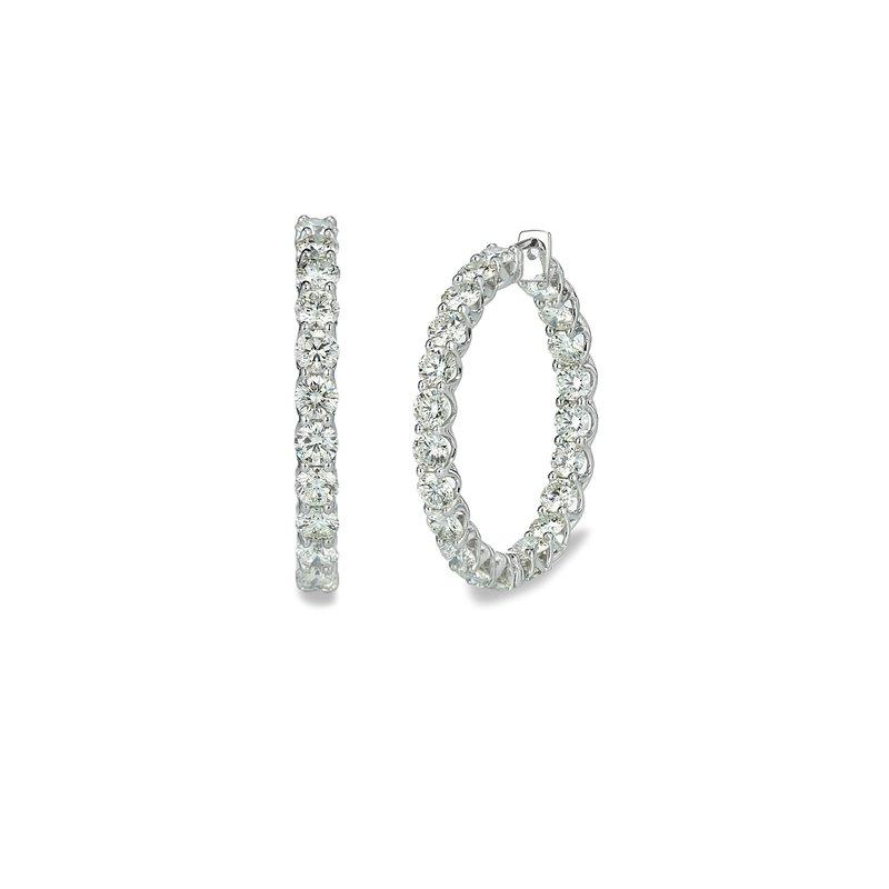 Forevermark Inside Out Forevermark® Diamond Lattice Hoops