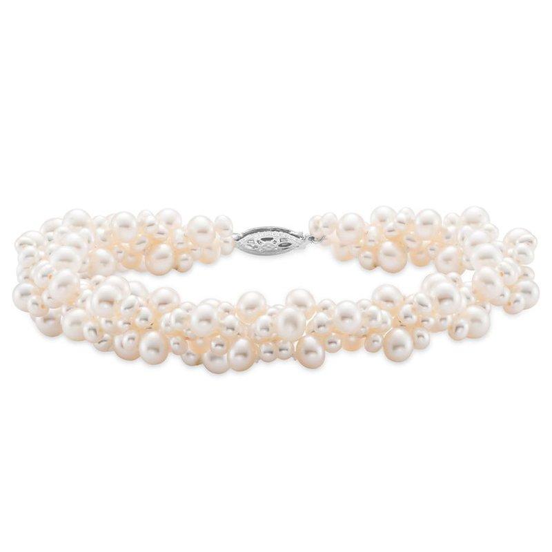 Mastoloni Pearls Cluster Pearl Bracelet