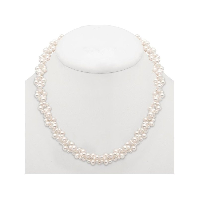 Mastoloni Pearls Pearl Cluster Necklace