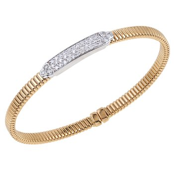 Diamond Bar Stacking Bracelet