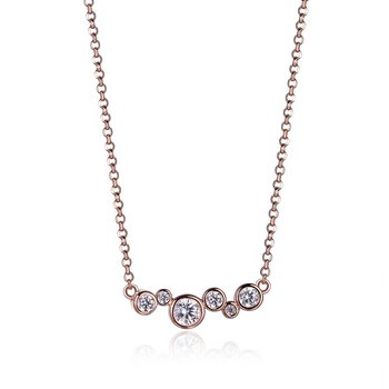 Bubble Collection - Rose Necklace
