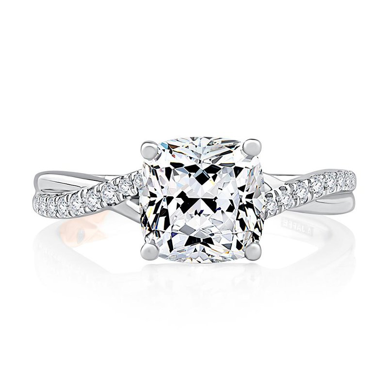 A. Jaffe Classic Twist Engagement Ring