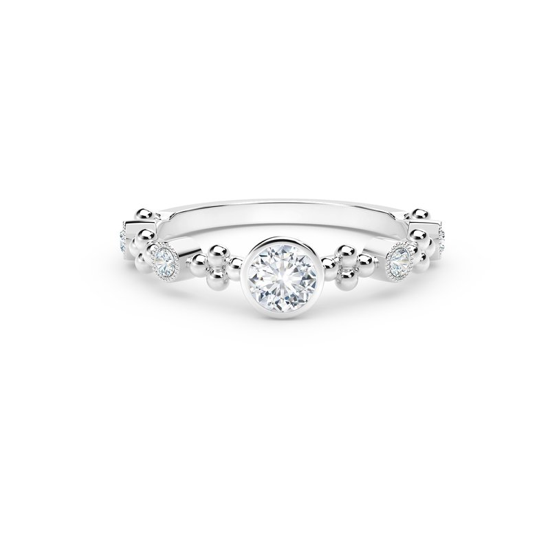 Forevermark Tribute Collection The Forevermark Tribute™ Collection Feminine Diamond Ring