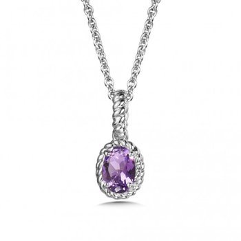 Purple Amethyst Pendant (small)