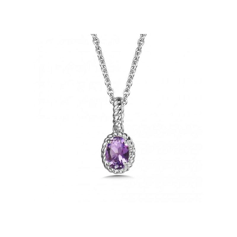 Colore SG Purple Amethyst Pendant (small)