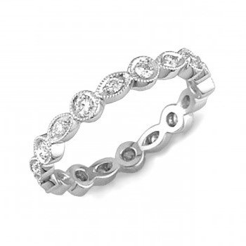 Stacking Diamond Eternity Band