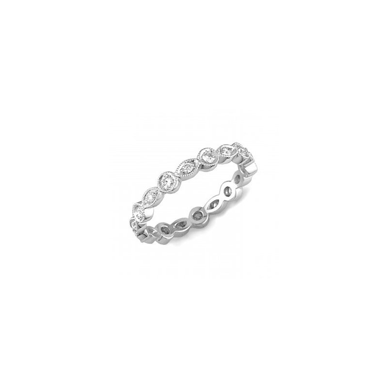 Coast Diamond Stacking Diamond Eternity Band