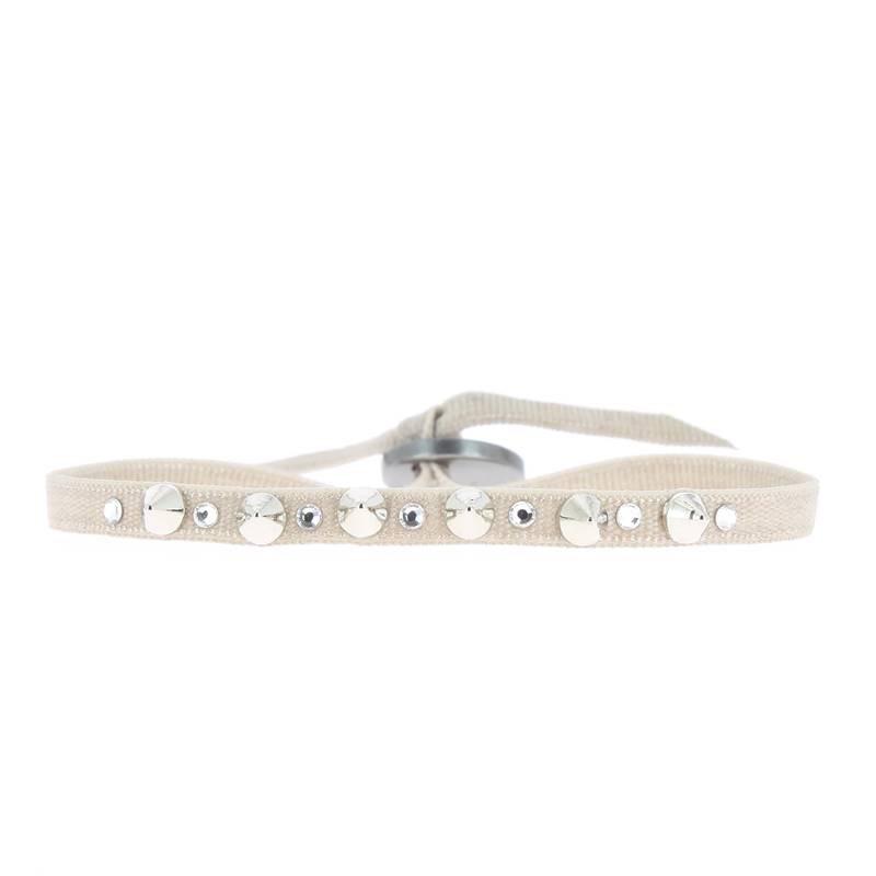 Les Interchangeables Mini Stud Ribbon Bracelet
