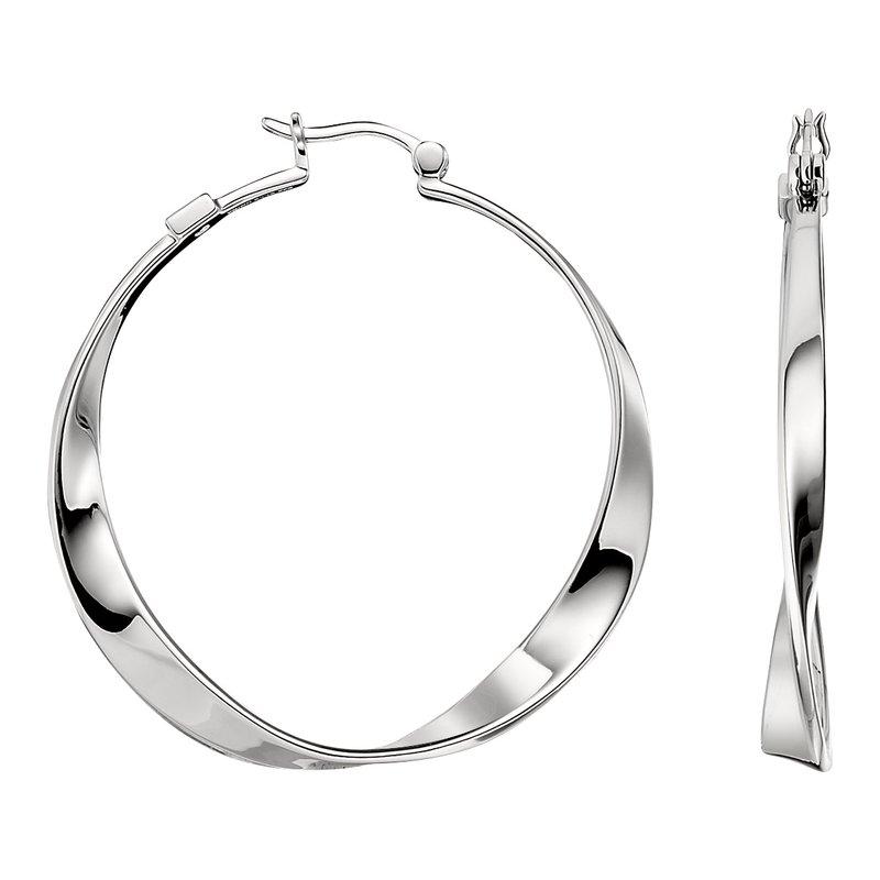 ELLE Sleek Collection Hoop Earrings