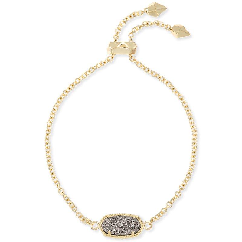 Kendra Scott Elaina Bracelet Gold Platinum Drusy