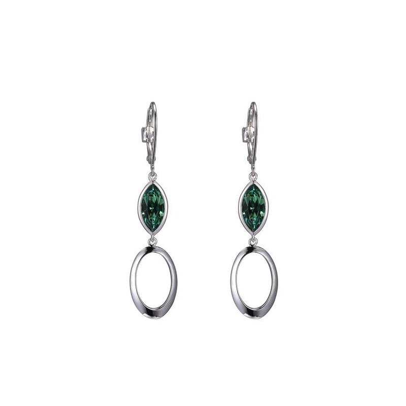 ELLE Crystal Dangle Earrings