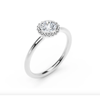 Forevermark Tribute Collection The Forevermark Tribute ™ Collection Beaded Diamond Ring