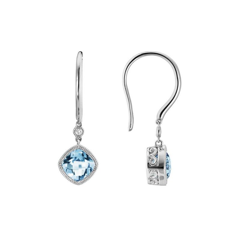 Artistry Limited Aquamarine Drop Earring