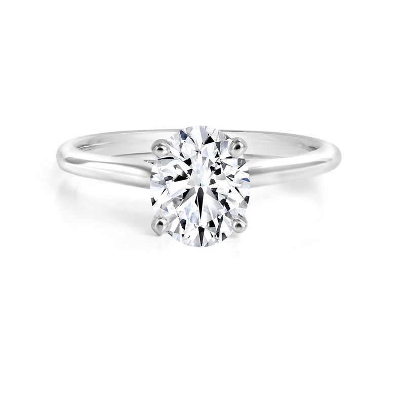 Forevermark Black Label Collection Black Label Oval Solitaire
