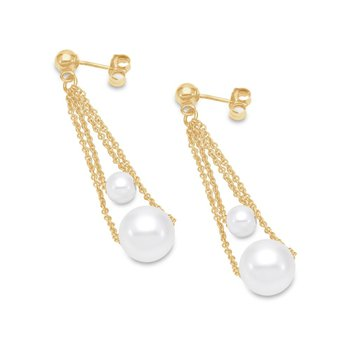 Double Chain Drop Earrings
