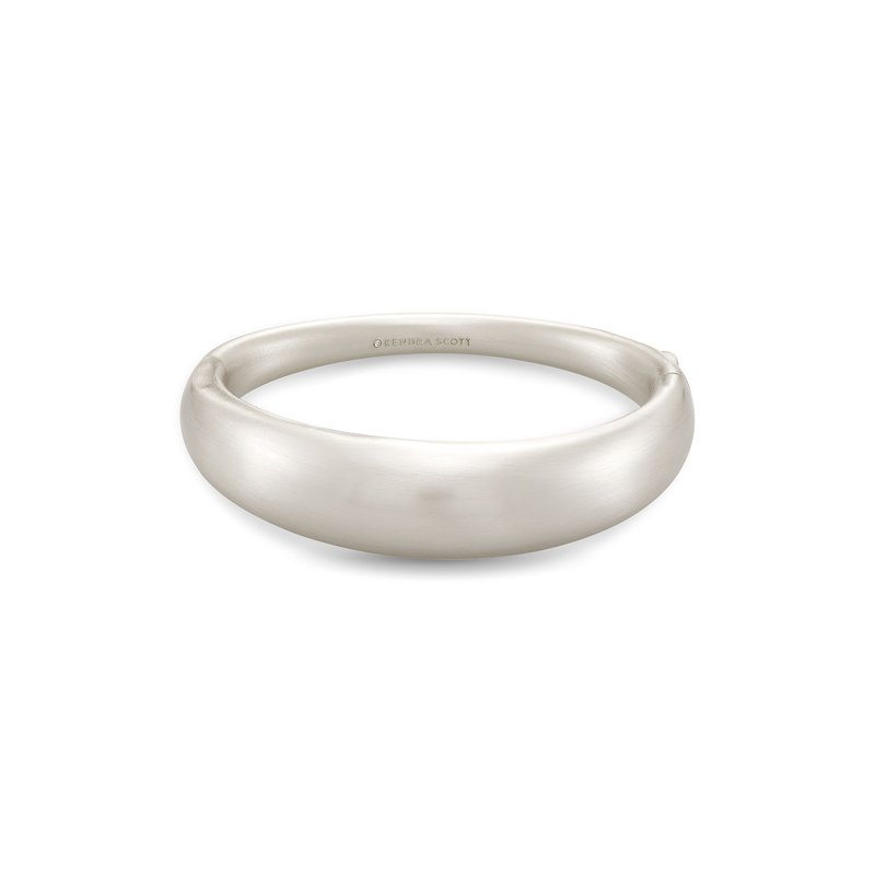 Kendra Scott Kaia Bangle Bracelet In Silver