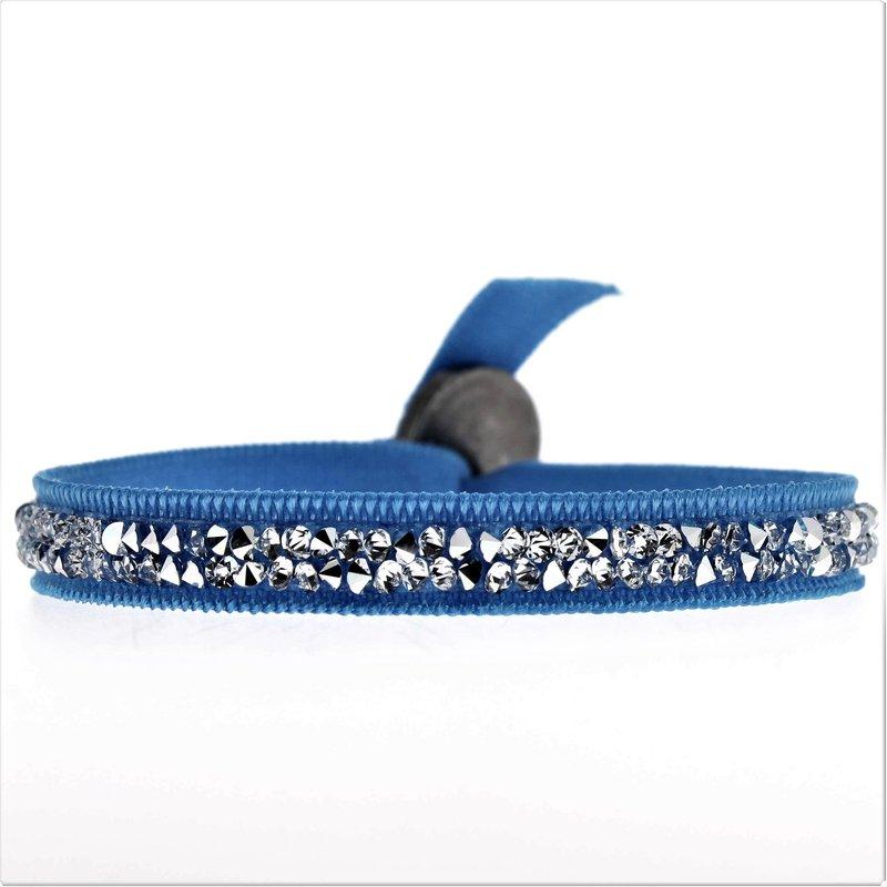 Les Interchangeables 2 Row Ribbon Bracelet