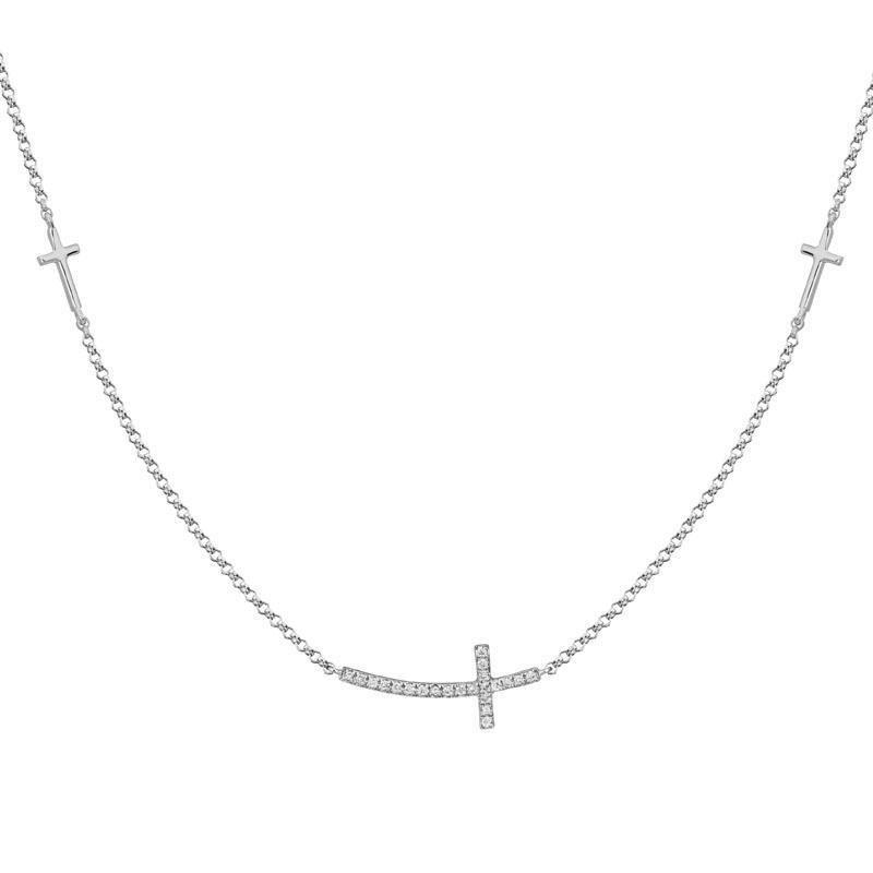 Artistry Limited Diamond Cross Necklace
