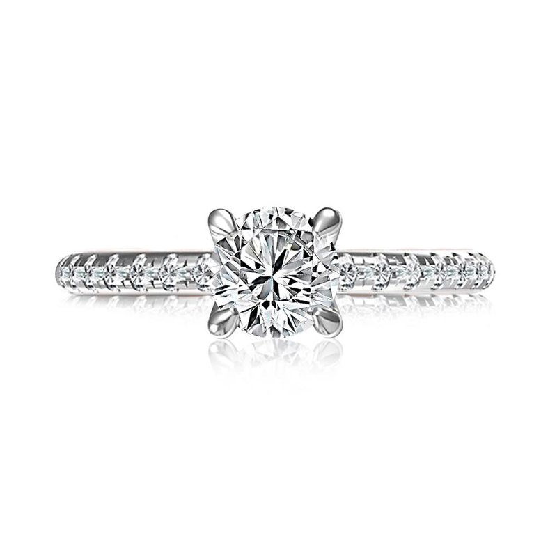A. Jaffe Modern Royals Diamond Engagement Ring