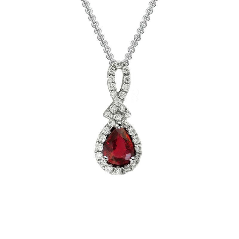 Artistry Limited Ruby and Diamond Pendant