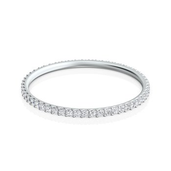 Thin Diamond Eternity Band