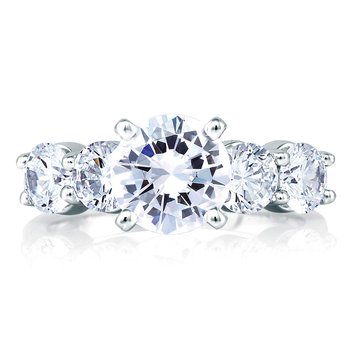 Classic Five Stone Engagement Ring