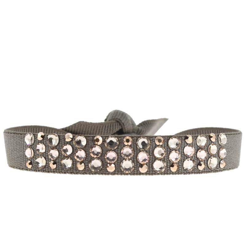 Les Interchangeables Round Disco Ribbon Bracelet