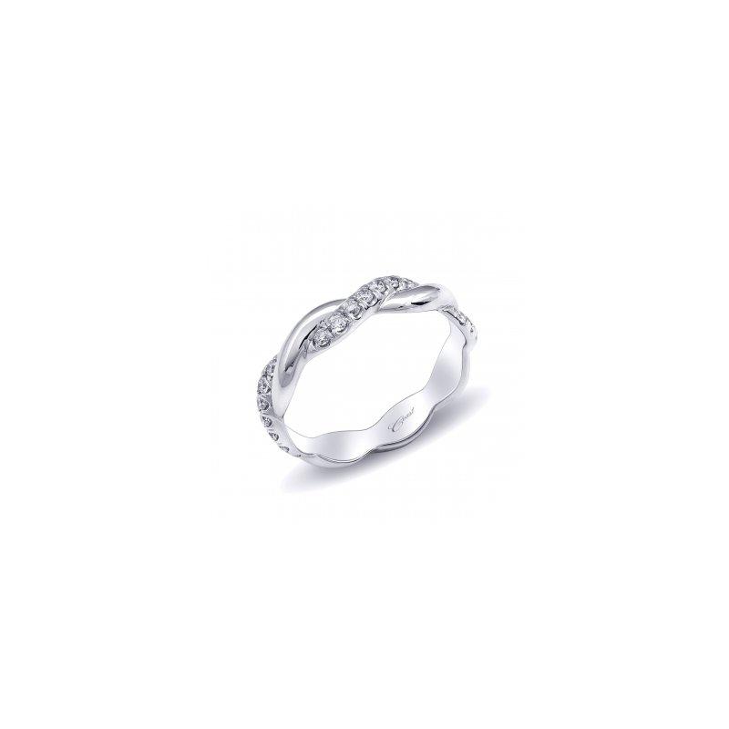 Coast Diamond Diamond Twist Wedding Band