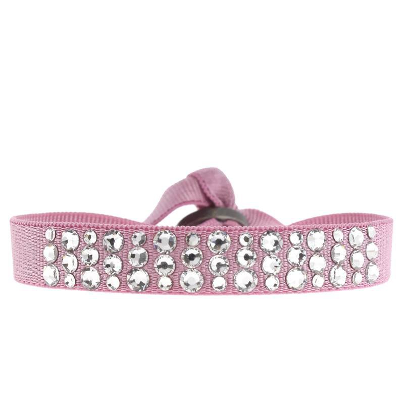 Les Interchangeables Round Disco Ribbon Bracelet