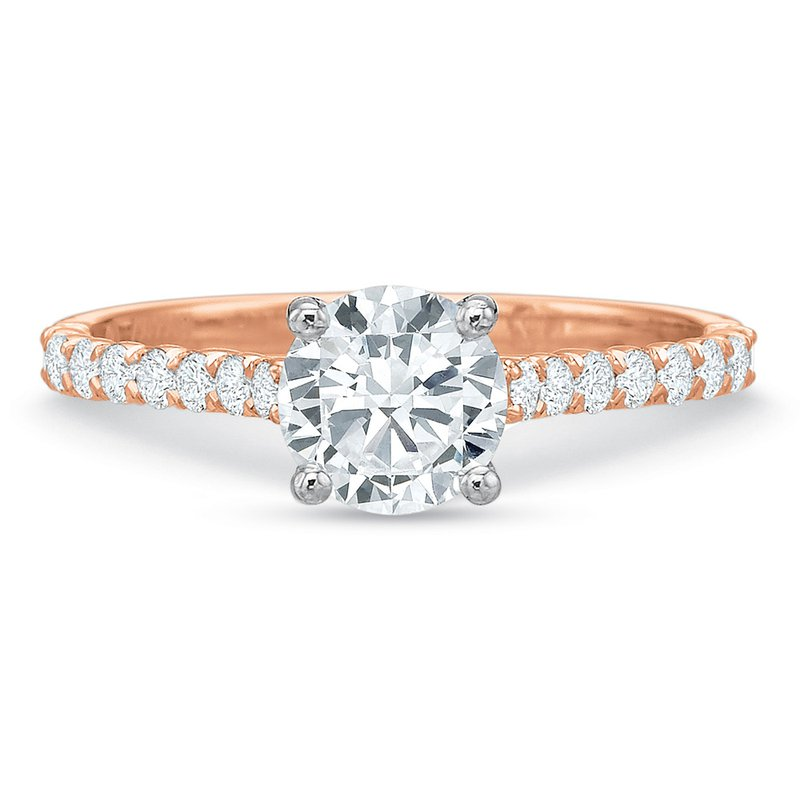 Precision Set Diamond Ring Setting