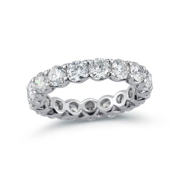 Lattice Diamond Eternity Band