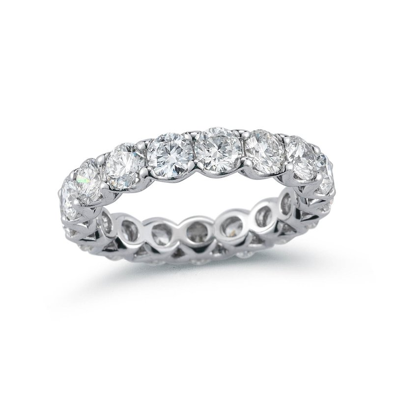 Forevermark Lattice Diamond Eternity Band