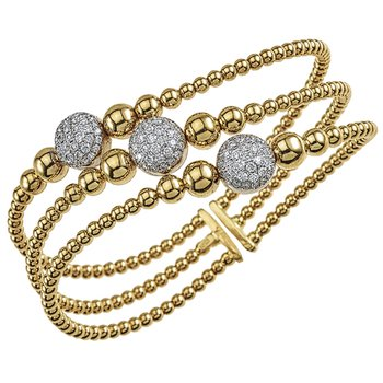 Diamond Statement Cuff Bracelet