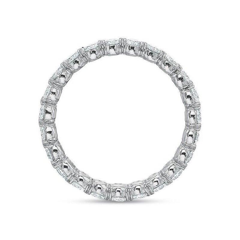 Precision Set Silk Collection Diamond Eternity Band