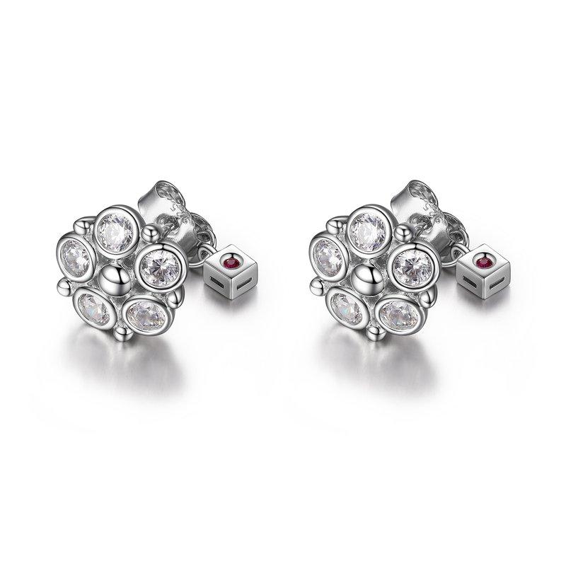 ELLE Boutique Bubble Collection Cluster Earring
