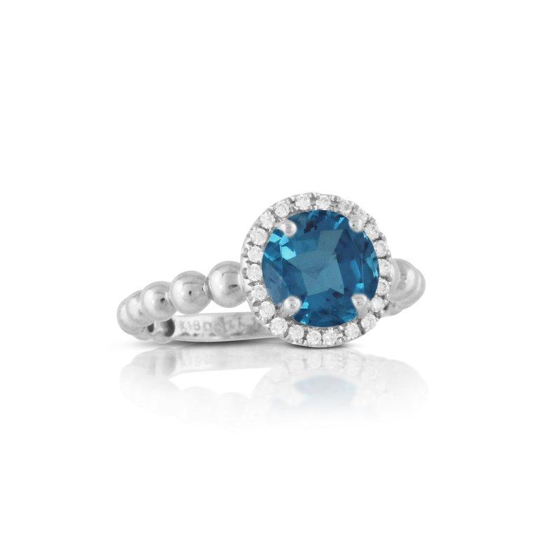 Doves London Blue Topaz Ring