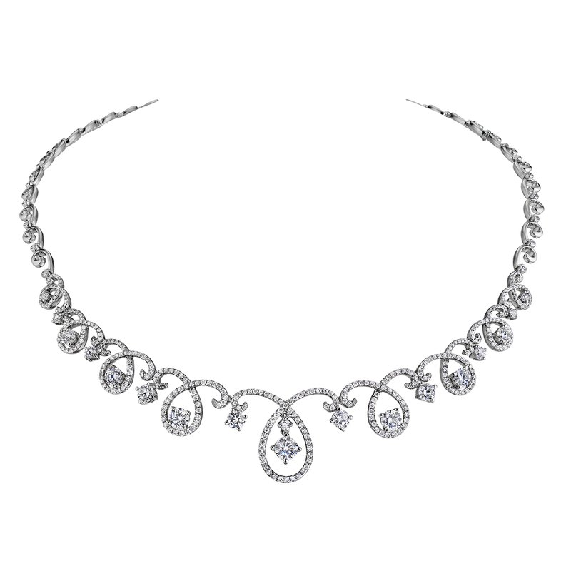 Forevermark Ribbon Necklace