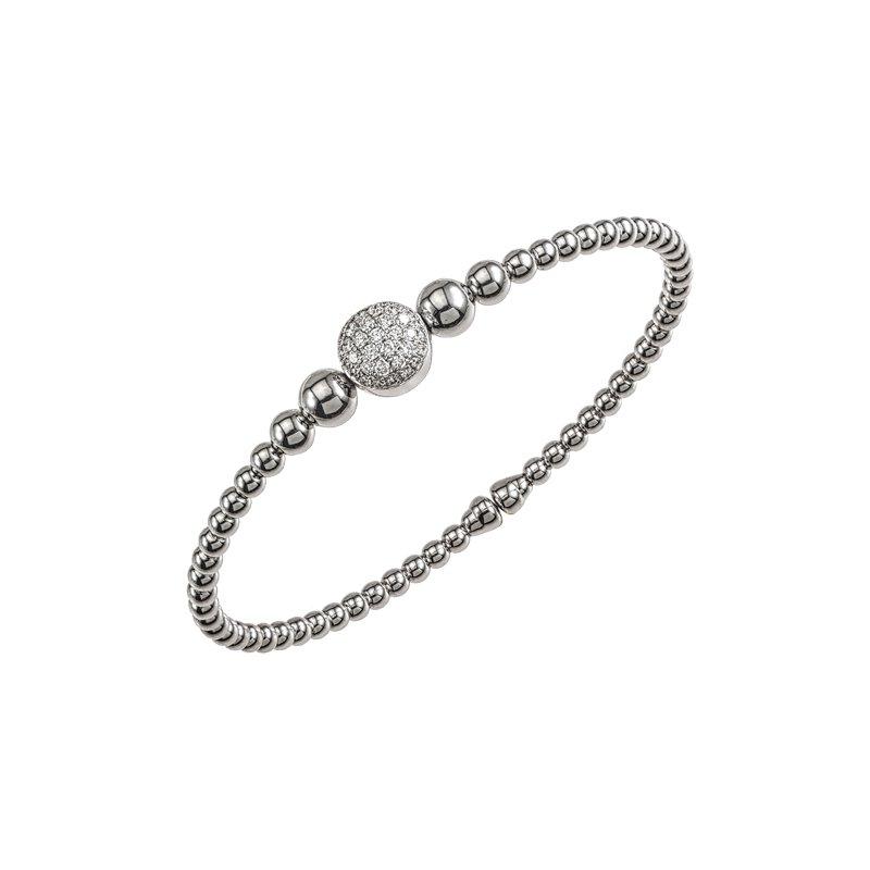 DA Gold Diamond Statement Cuff Bracelet