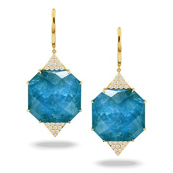 Laguna Apatite Dangle Earrings