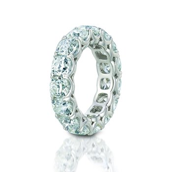 Forevermark® Ideal Cushion Eternity Band