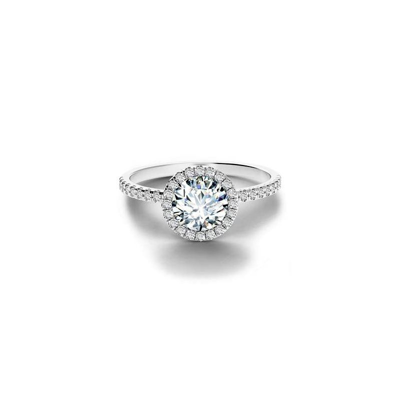 Forevermark Center of My Universe Diamond Halo Engagement Ring