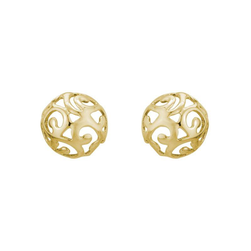Artistry Limited Yellow Stud Earring