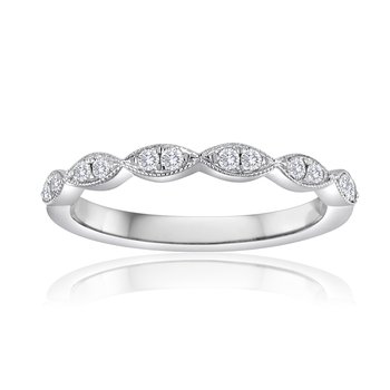 Marquis Diamond Stacking Band