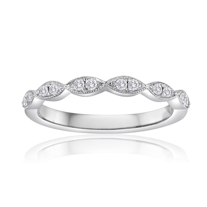 Forevermark Marquis Diamond Stacking Band