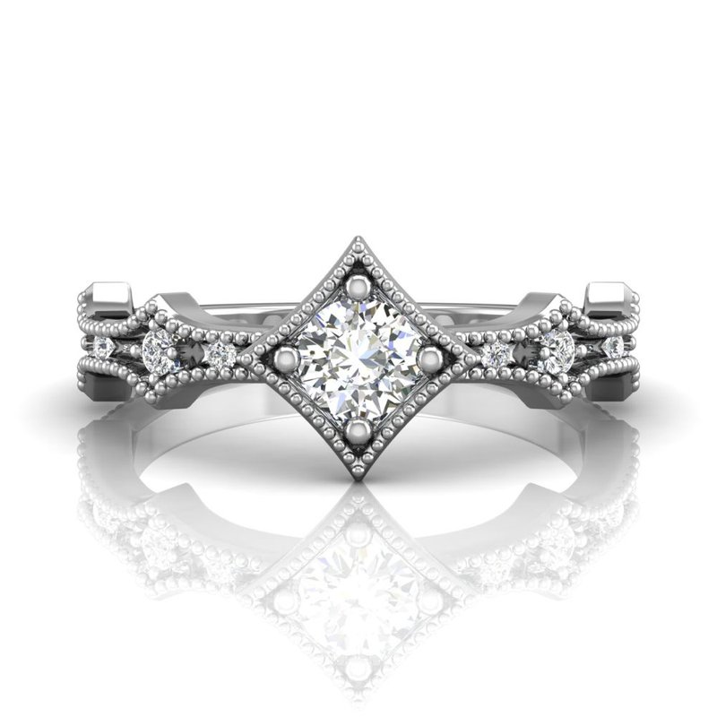 Forevermark Tribute Collection The Forevermark Tribute™ Collection Modern Diamond Ring