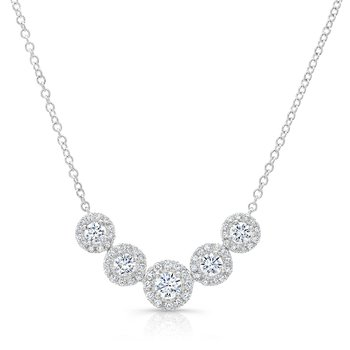 Forevermark® Five Stone Diamond Necklace
