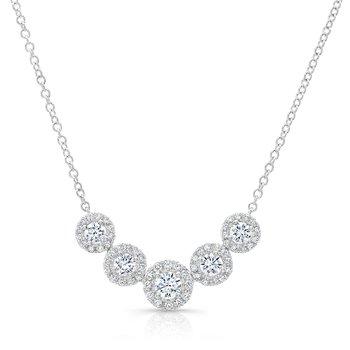 Forevermark® Five Stone Diamond Necklace