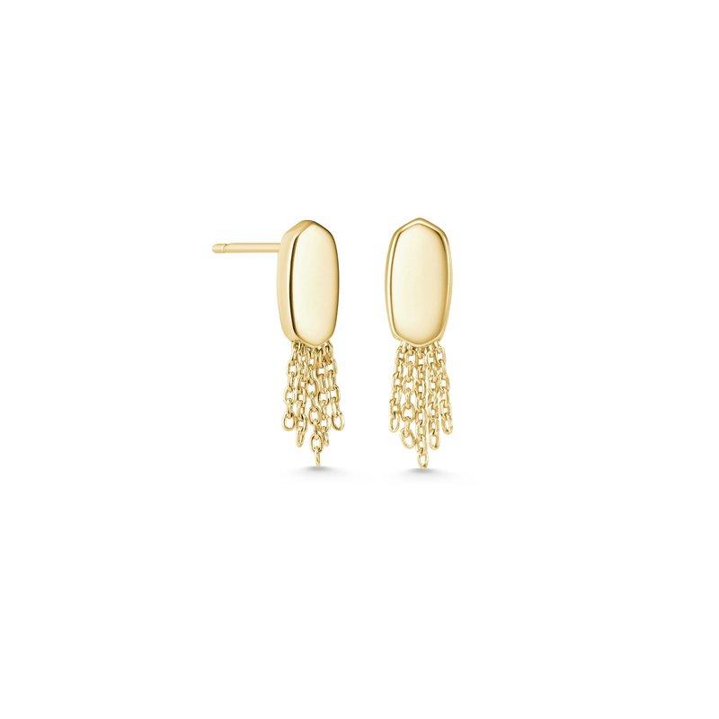 Kendra Scott Deanna Stud Earrings In Gold